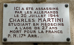Photo of Marble plaque number 42880