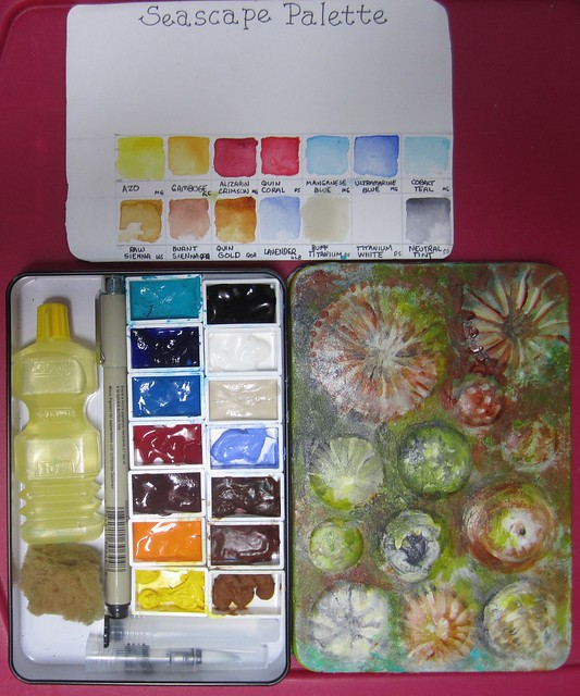 Qor Tin Watercolor Palette, Canon POWERSHOT SD1400 IS
