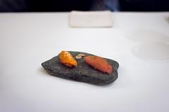 Carrot & Rhubarb Sushi