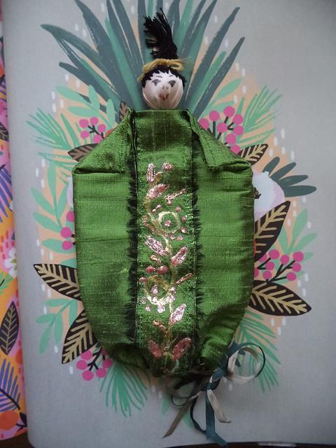 green silk asian inspired, Sony DSC-W710