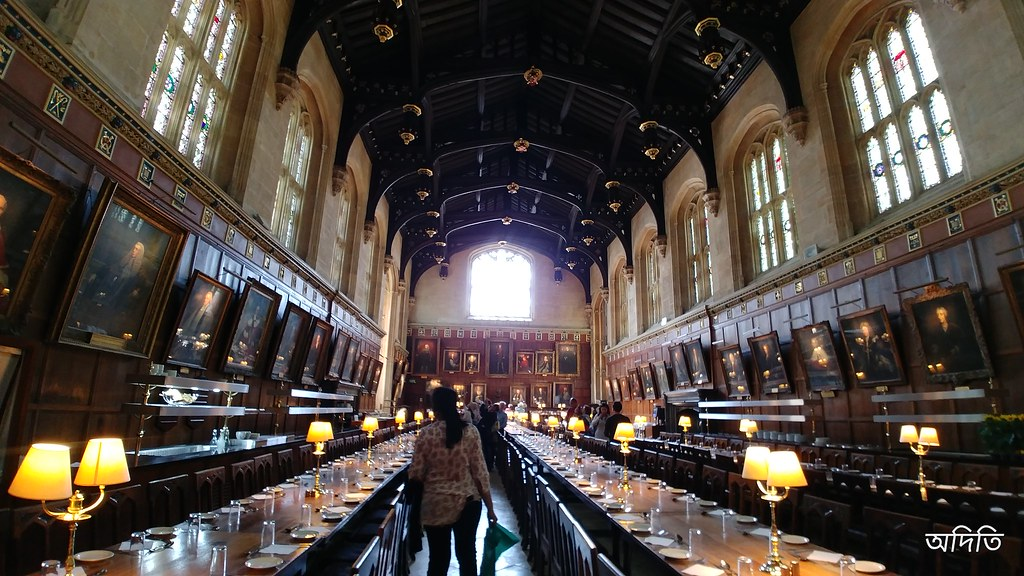 dinning hall, christ church college, Oxford