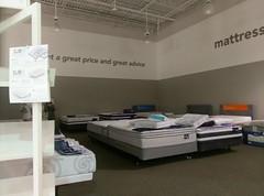 Peek inside the mattress center