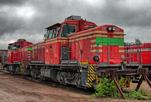 switcher shunter dieselhydraulic lokomo dr14 vr finnish railways kouvola valtionrautatiet diesel locomotive finland finnishrailways engineshed mpd