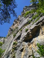 Alter Klettergarten Platte, Balsthal, Deutschweizer Jura, Switzerland