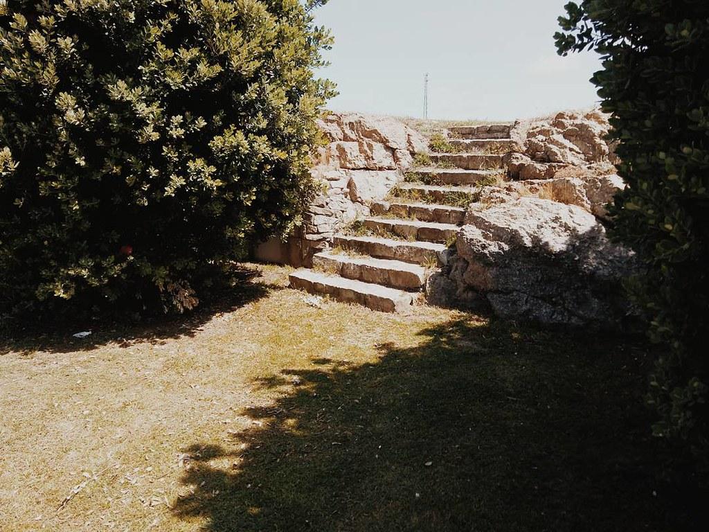 Escaleras ocultas. #Coruña #photography #phonephoto #bens #parquebens #park #urbannature #vsco