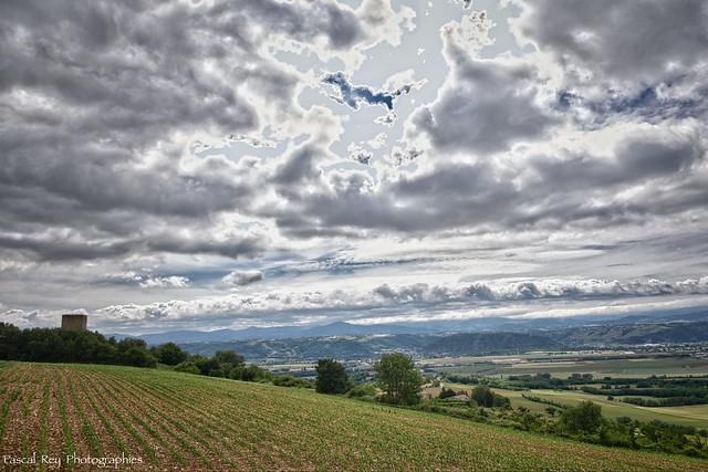 La Vallée du Rhône (vers le sud).