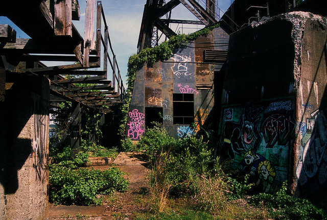 Abandoned coal loading dock 18