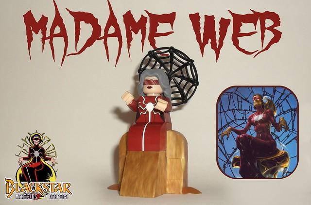 Madame Web (Lego Marvel)