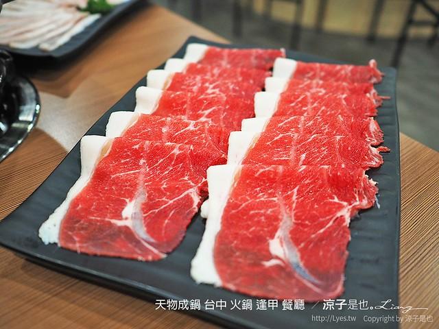 天物成鍋 台中 火鍋 逢甲 餐廳  60