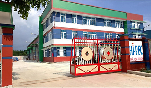 Nhà máy của Hi-Pec tại Tân Kim (Long An)