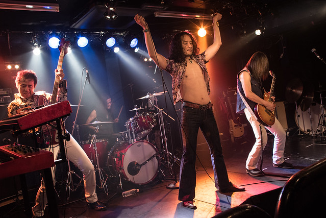 Tangerine live at 獅子王, Tokyo, 27 Jun 2017 -00148