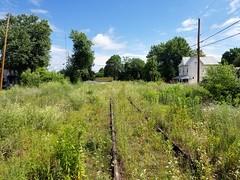 Nearly abandoned tracks, Shenandoah Junction, WV