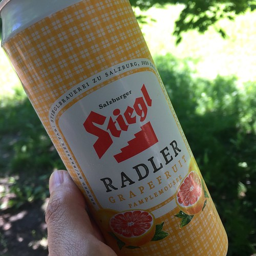 Me and my radler.