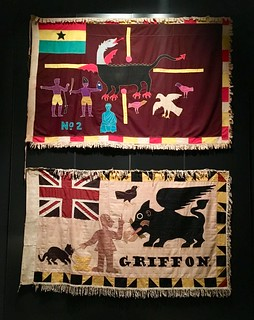 Griffin & Dragon Flags