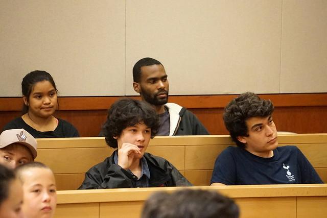 Rosa Parks Mock Trial, Sony ILCE-7, Sony E 55-210mm F4.5-6.3 OSS