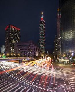 Taipeh / Taipei 101 at night