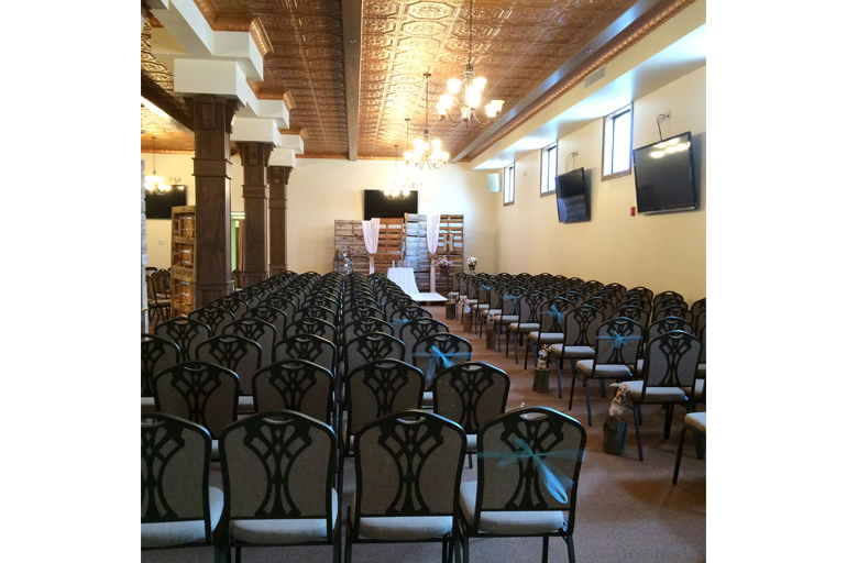 Wedding Ceremony Chairs Set Up