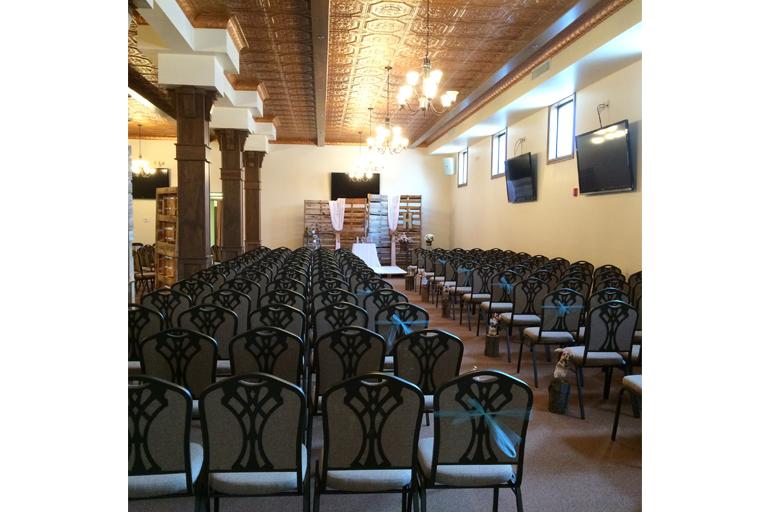 Wedding Ceremony Chairs Set Up