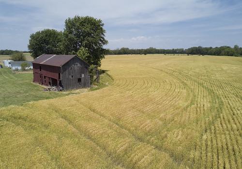 farm wheat growers barn golden landscape mavicpro drone hdr stoutsvilleohio stoutsville ohio ohiofoothills