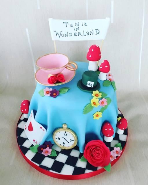 Cake by Marina Korompili of Marina's cake world