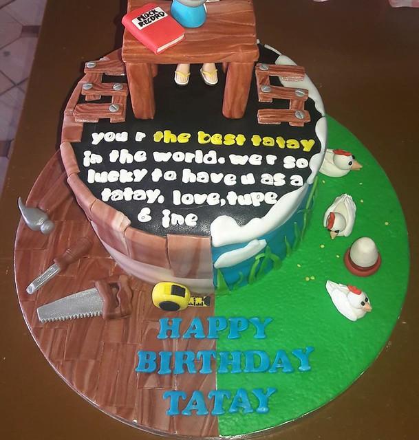 2-Themed Dad's Cake from Armi Juatco Tabamo of Sweet Treats by Armi