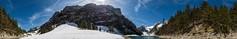 Ende April am Seealpsee, Alpstein, AI, Switzerland (360 degrees)