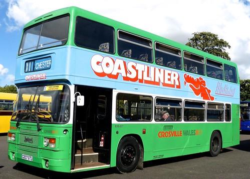 C207 GTU 'Crosville Wales' No. EOG 207 Leyland Olympian ONLXB/1R  / Eastern Coach Works on Dennis Basford's railsroadsrunways.blogspot.co.uk'
