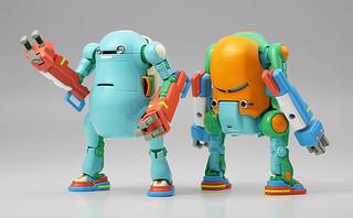 長谷川《35機動機器人》「機械動力手臂」版本 1/35比例組裝模型 メカトロ ウィーゴ No.06 `ぱわーあーむ`
