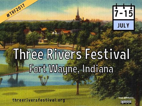 Three Rivers Festival #trf2017 #yearofopen