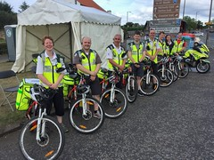 The 2017 British Red Cross Cycle Response Team