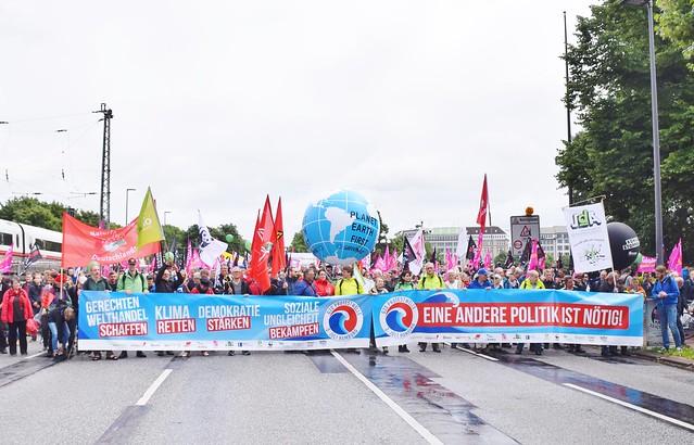 02.07.17: G20-Protestwelle in Hamburg