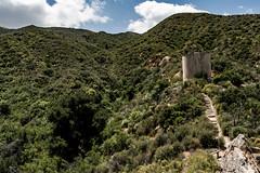 Water Tank above Placerita Canyon