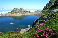 Lac du Crozet, Belledonne, Alps, France