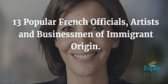 13 Popular #French Officials, #Artists, and #Businessmen of #Immigrant Origin. http://buff.ly/2tiZa7U http://ift.tt/2tm0GGj