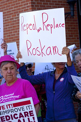Protest Against Congressman Peter Roskam 6th District Illinois Who Voted for Trumpcare 6-20-17 1571