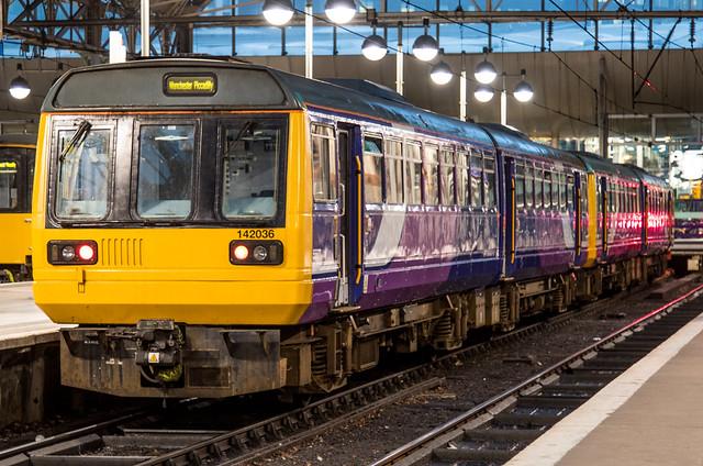 Northern Rail Class 142 - 142036