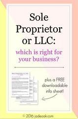 Sole Proprietor or L