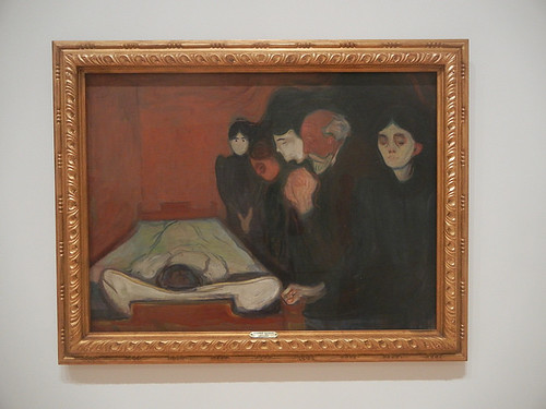 DSCN9157 _ At the Deathbed, 1895, Edvard Munch, SFMOMA