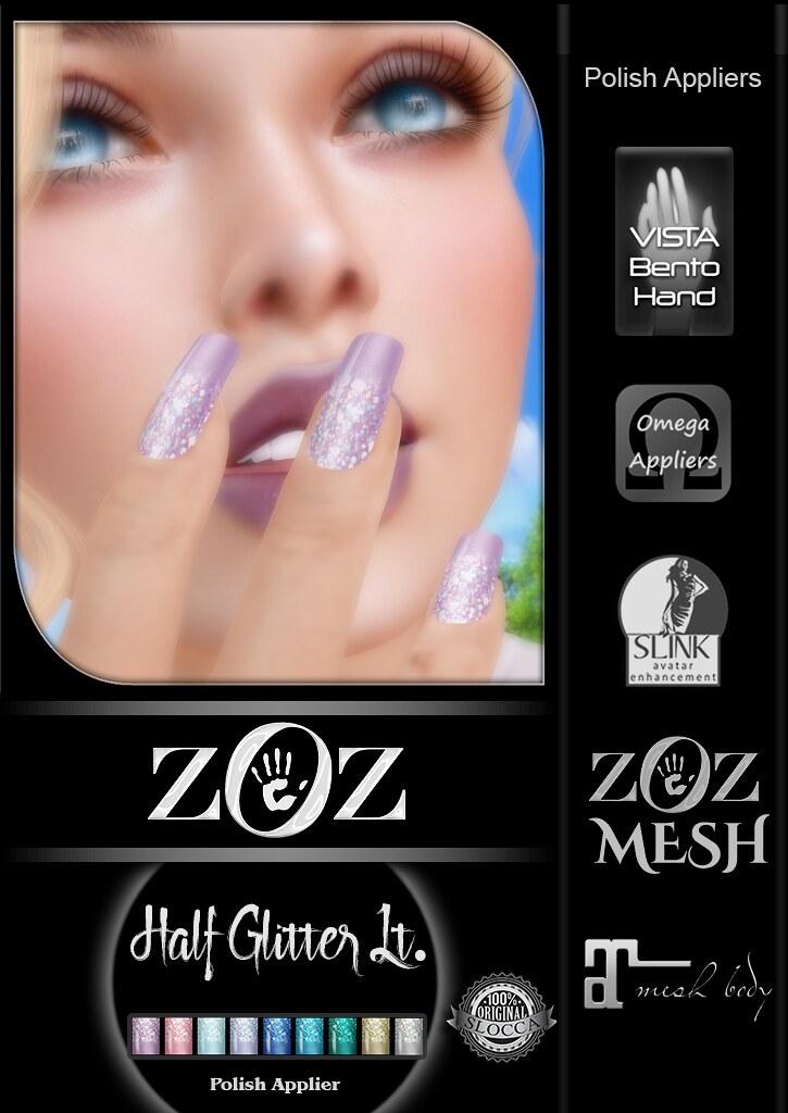 {ZOZ} Half Glitter Lt pix L - SecondLifeHub.com