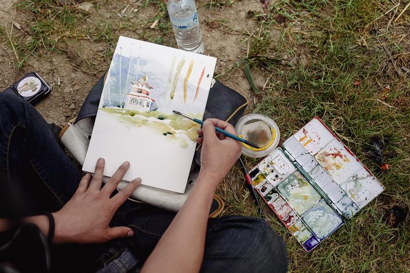Sketch-Bhutan-Drukasia-Travel-80