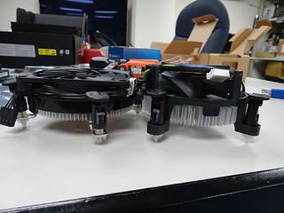 NT08-115XP & 原廠散熱器