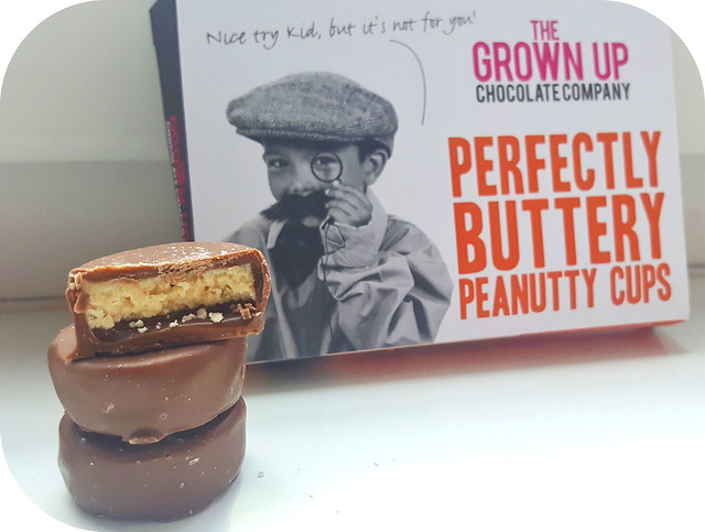 The Grown Up Chocolate Company Perfectly Buttery Peanutty Cups