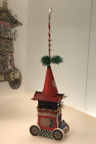 祇園祭 山鉾ミニチュア