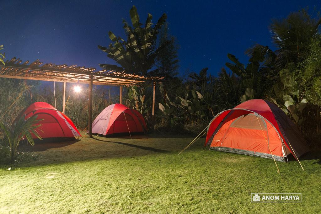 Tent at Njung Bali Camp