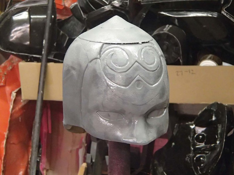 Lady Thor Helmet Primed