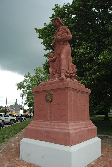 Madonna of the Trail, Vandalia, IL