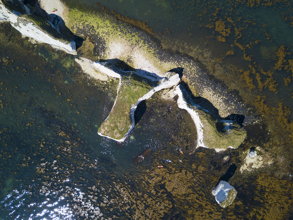 The Foreland from above - Click to show full size