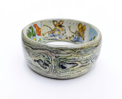 `Town Mouse Country Mouse` (revisited) Ladybird book bangle