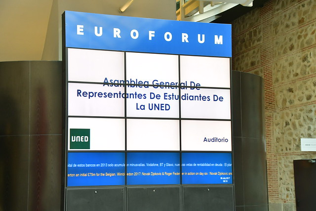 Asamblea General de Representantes de Estudiantes de la UNED (08/07/2017)