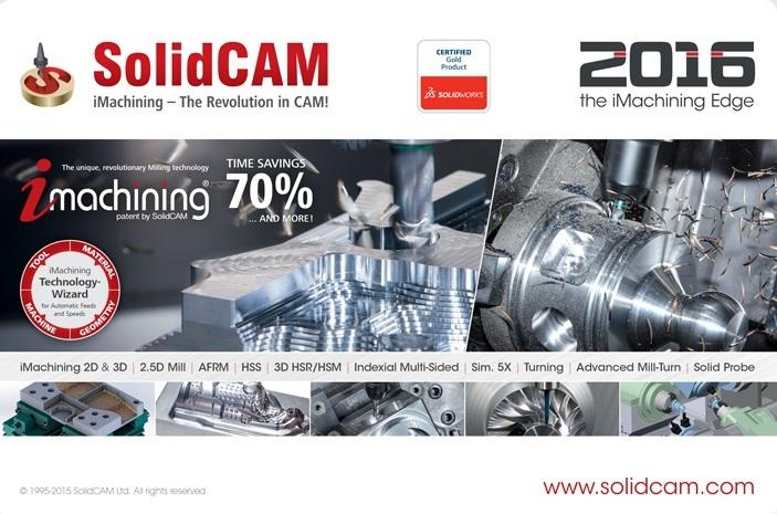SolidCAM 2016 SP2 HF3 Multilang for SolidWorks 2012-2017 64bit